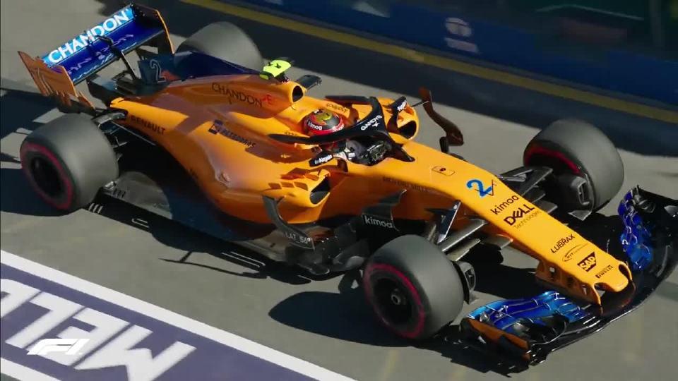 2018年 F1澳大利亚站 感受速度与激情
