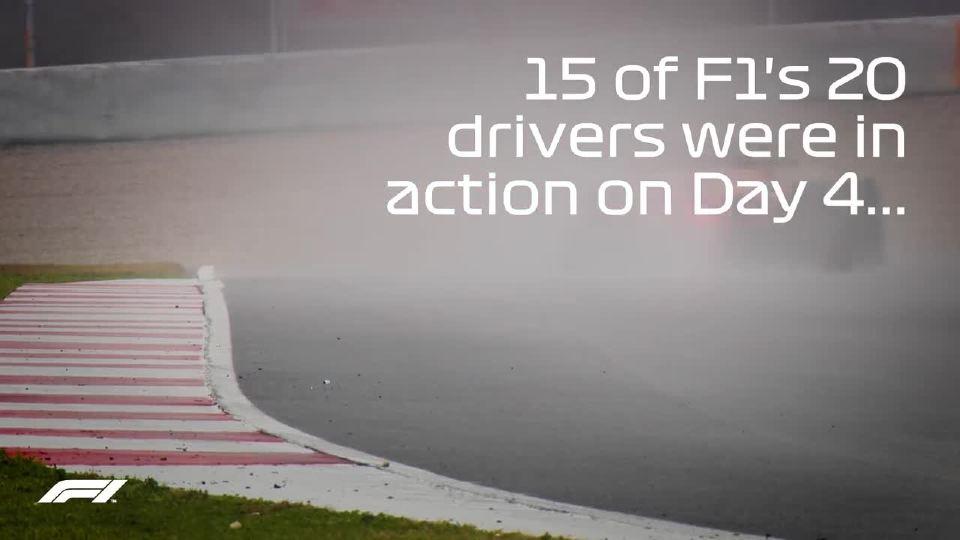 F1大奖赛 2018年测试赛 精彩已经开始