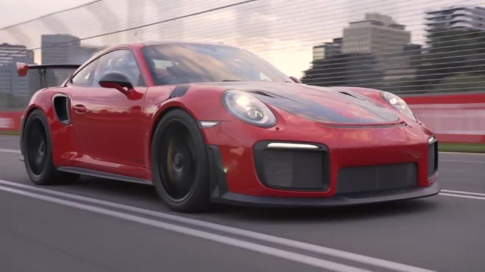 马克韦伯与保时捷911在澳大利亚获奖