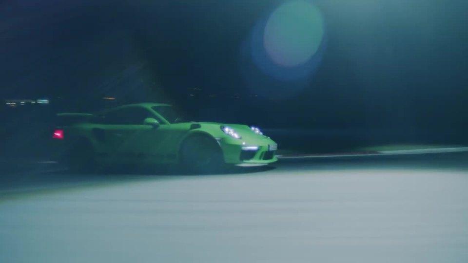 揭秘保时捷911 GT3 RS商业广告如何拍摄