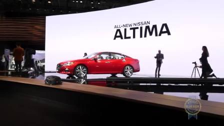 2019款日产Altima  2018纽约车展
