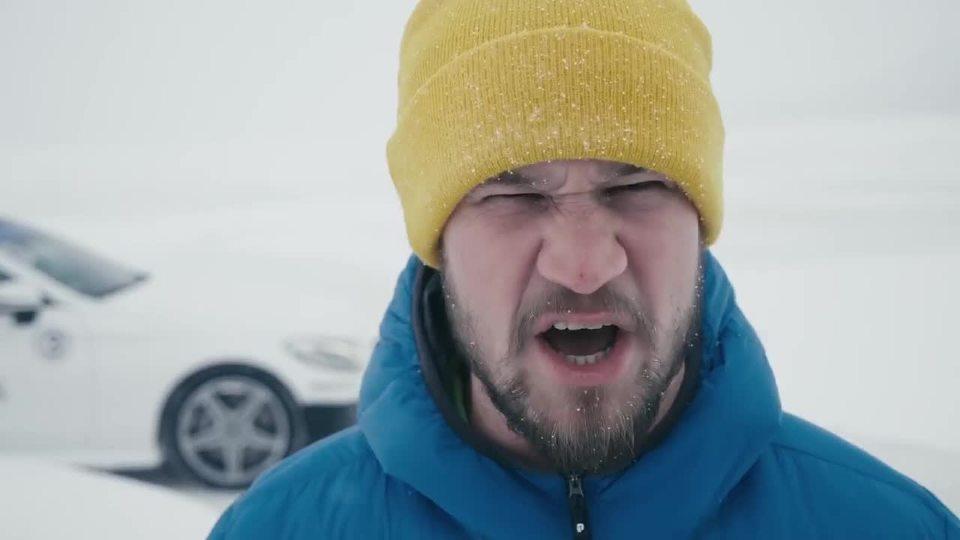 不可能完成的挑战 冰上极限漂移