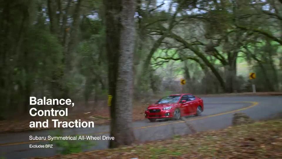 道路评测 斯巴鲁四轮驱动讲解