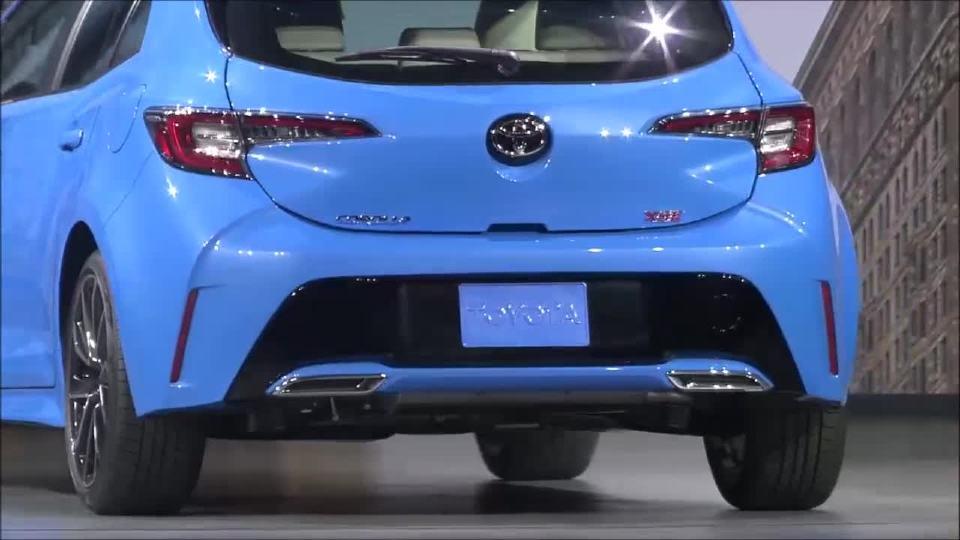 2019丰田卡罗拉两厢发布