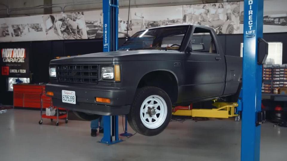 3500美元雪佛兰S-10全面转型