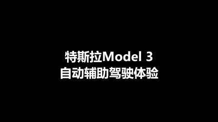 特斯拉Model 3自动驾驶辅助体验