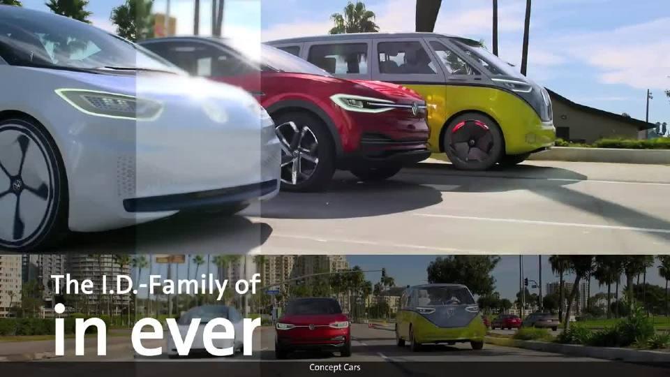 大众未来为我们将要带来的电动汽车