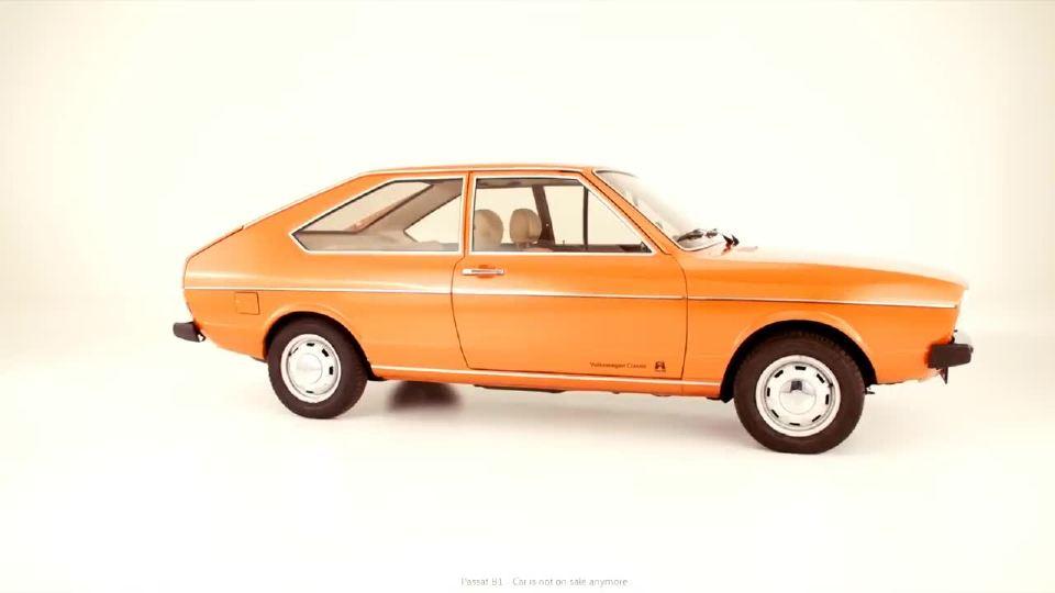 1973年版帕萨特 所有荣耀与成功的开始