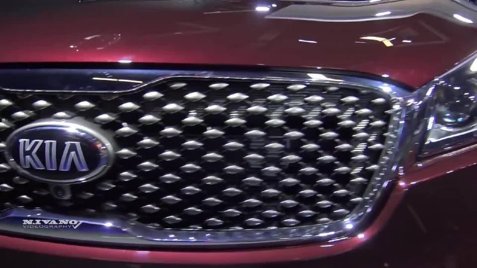 2018蒙特利尔车展 2019款起亚索兰托SXL搭载V6发动机