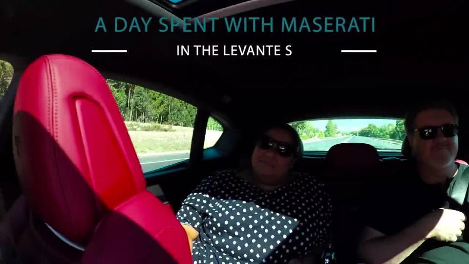 玛莎拉蒂Levante S 驾驶感受