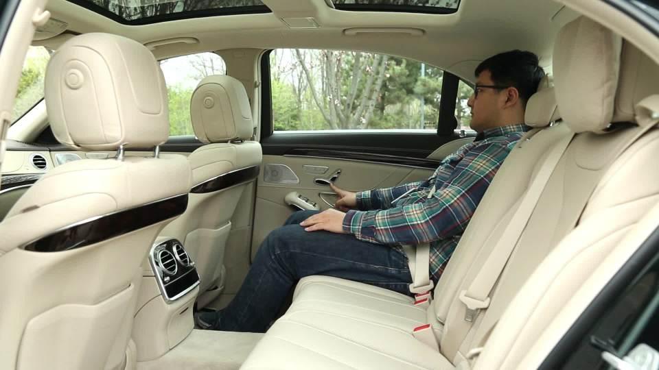 2018款奔驰S级 乘坐体验展示
