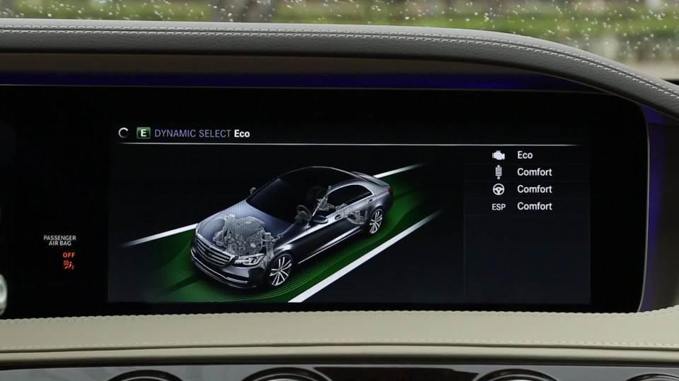 2018款奔驰S级 驾驶模式展示
