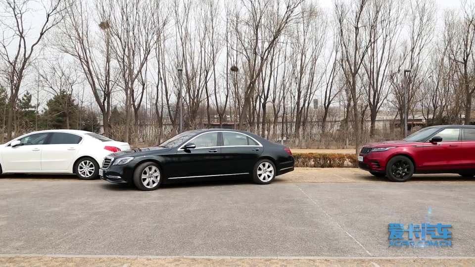 2018款奔驰S级 智能泊车系统展示