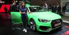 2018北京车展  奥迪全新RS 4 Avant