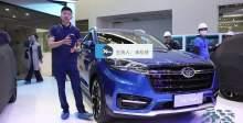 2018北京车展  天津一汽旗舰SUV骏派D80