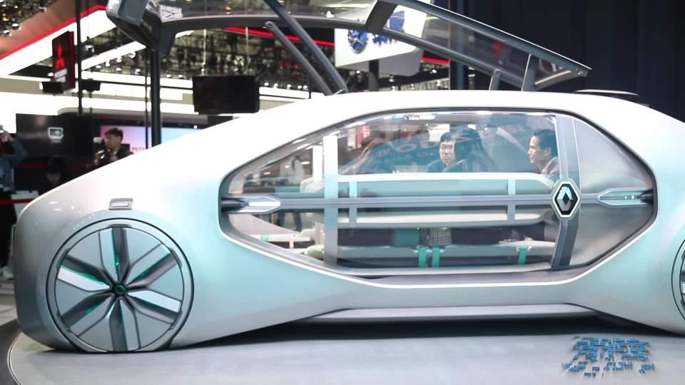 2018北京车展 雷诺EZ-GO概念车亚洲首秀