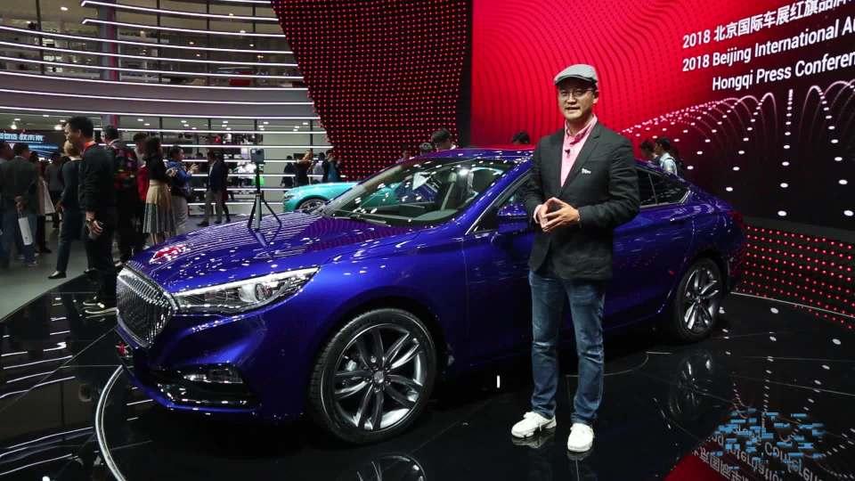 2018北京车展 红旗H5售价14.98万起