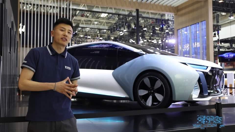 2018北京车展 长江EV概念车创新力十足