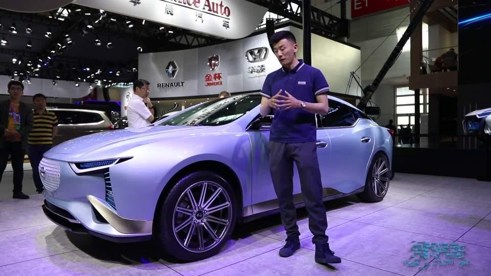 2018北京车展 补贴后16-17万的长江EV