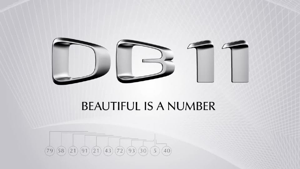 阿斯顿・马丁DB11 用数据演绎运动美学