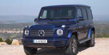 身披金属质感的蓝色G500 你值得拥有