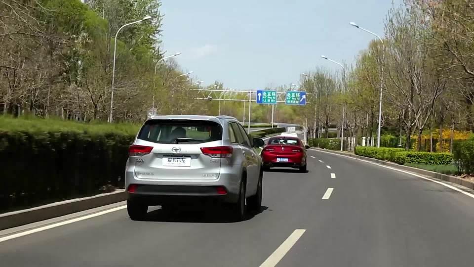 2018款广汽丰田汉兰达 动态雷达巡航系统