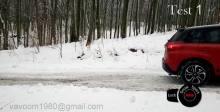 铃木VITARA涡轮增压4X4冬季测试-自动运动雪锁定模式