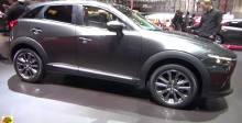 2018纽约车展马自达CX-3搭载创驰蓝天技术