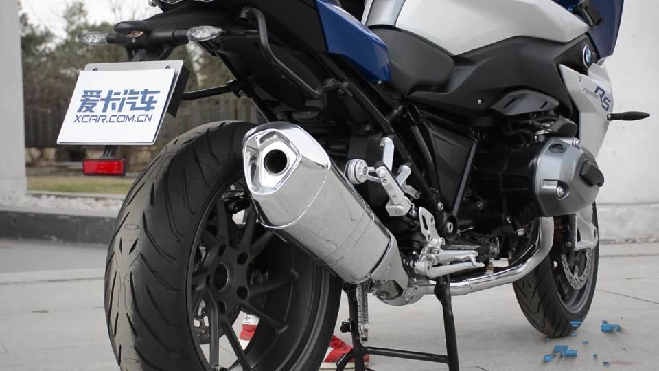 宝马R 1200 RS 启动展示