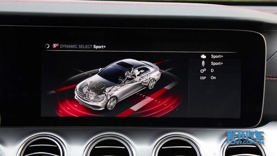 奔驰E级AMG 驾驶模式展示