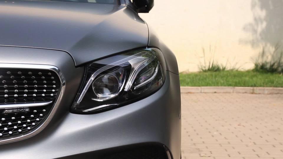 奔驰E级AMG 灯光展示