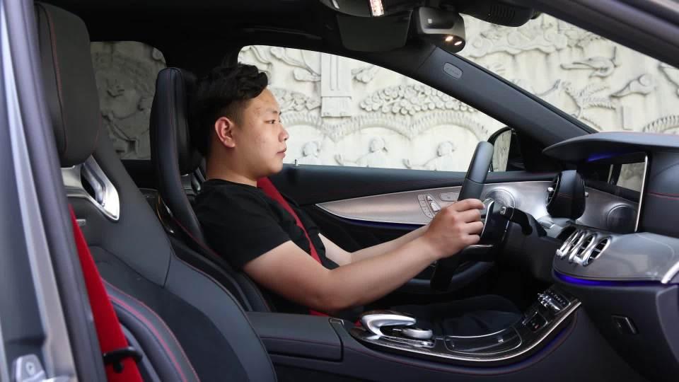 奔驰E级AMG 乘坐体验展示