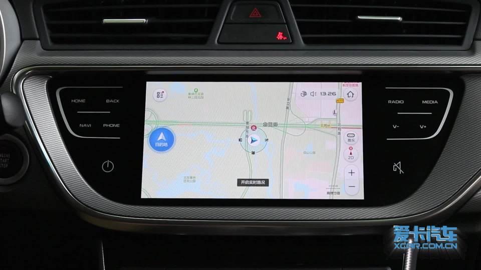 2018款吉利帝豪GL 导航系统展示