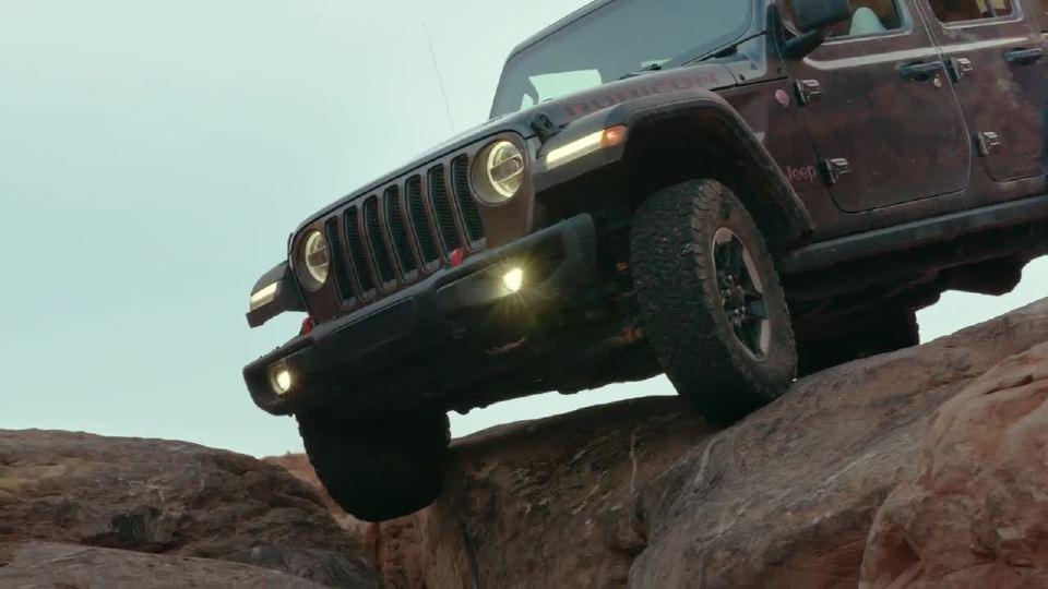 2018款Jeep牧马人越野性能更强大