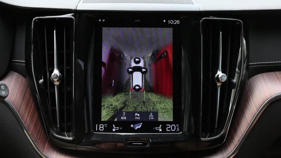 沃尔沃XC60 全景影像展示