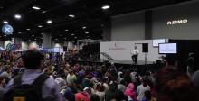 本田机器人在美国科学节上的展示