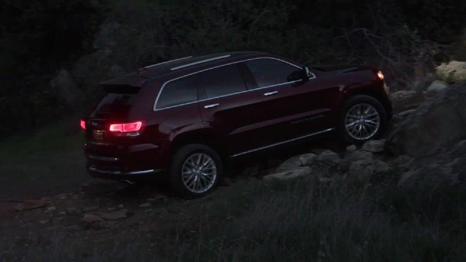 Jeep大切诺基驾驶模式给你不一样的体验