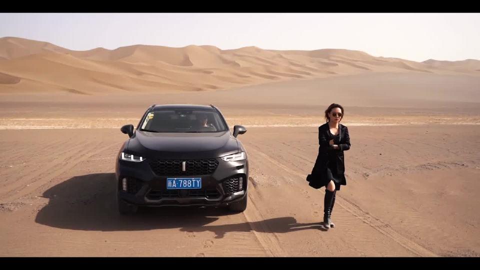 新疆Vlog(下) 穿越星空下的沙漠  驾VV7解锁真正的维族生活