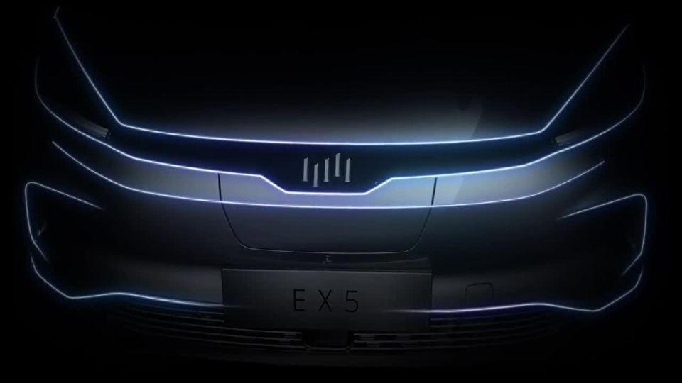 威马汽车 EX5 SUV 设计的精髓