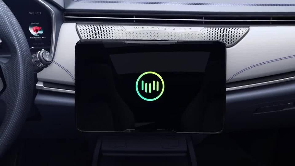 威马汽车 EX5 SUV 安全舒适的首选