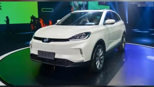 威马汽车 EX5 SUV 闪亮登场