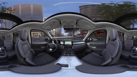 林肯领航员360度全景VR 驾驶模式展现