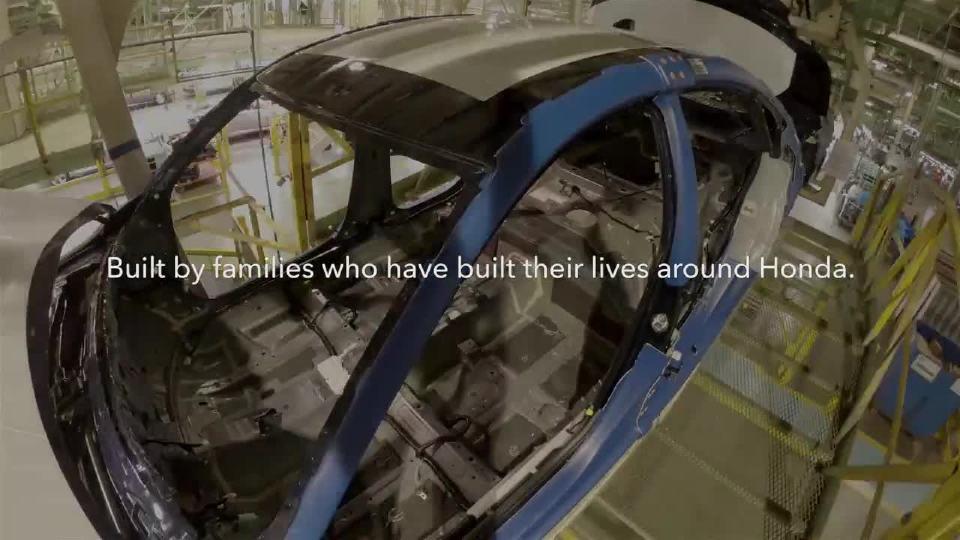 本田庆祝第25亿辆本田汽车在美国建造
