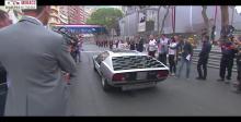摩纳哥大奖赛上的兰博基尼