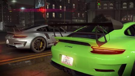 感受游戏中的保时捷911 GT3 RS