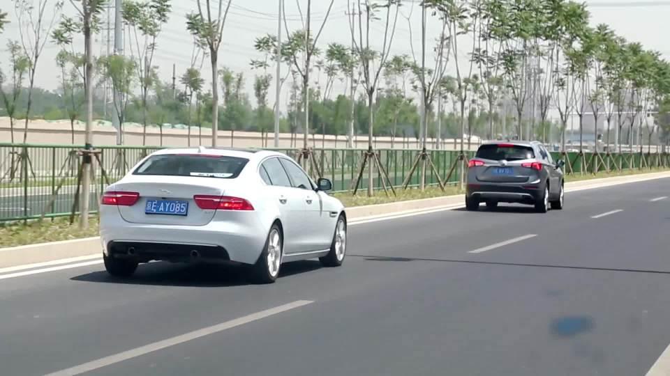 捷豹XEL 自适应巡航展示