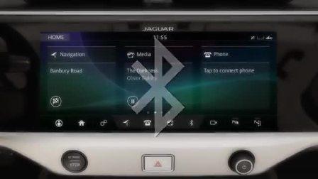 捷豹I-PACE 蓝牙如何连接手机