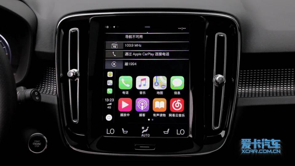 2018款沃尔沃XC40 CarPlay展示