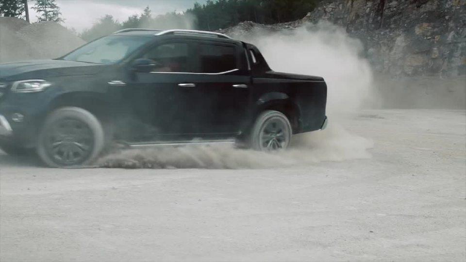 奔驰X级350D 运动生活方式的性能提升