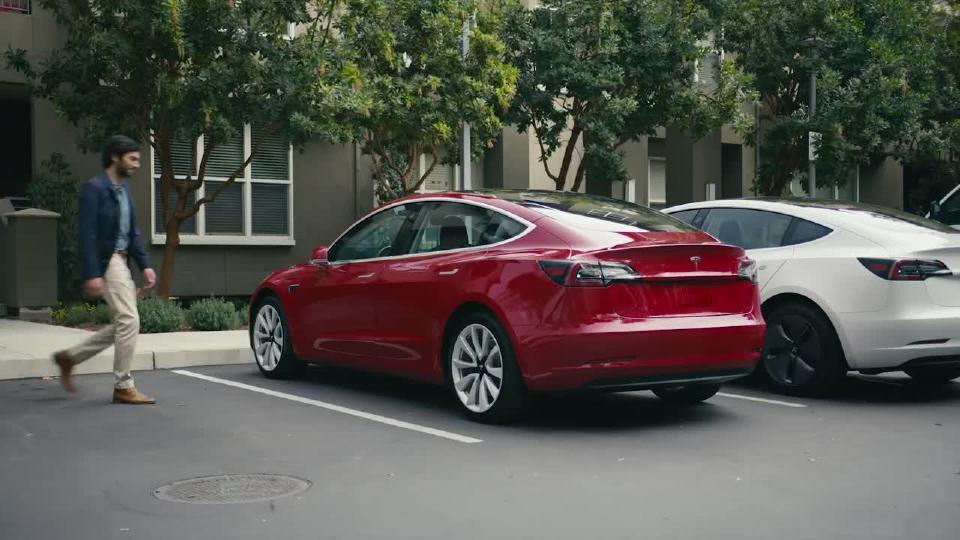 特斯拉Model 3 喜欢你的简单
